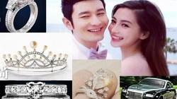 """Bóc giá """"đám cưới thế kỷ"""" gần 700 tỷ của Huỳnh Hiểu Minh"""