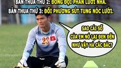 """ẢNH CHẾ: Nguyên Mạnh """"than phận"""", Rooney """"đá đểu"""" ĐT Hà Lan"""