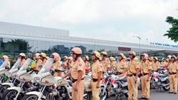 Hàng trăm cảnh sát giải tỏa ùn tắc gần sân bay Tân Sơn Nhất