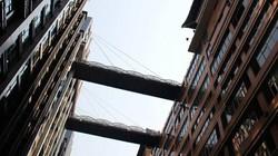 Cây cầu đi bộ cao nhất thế giới ở Trung Quốc
