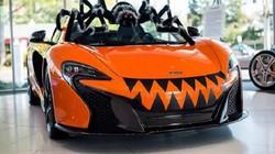 """Siêu xe McLaren 650S Spider """"hóa nhện khổng lồ"""""""