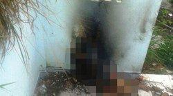 Cô gái bị trói tay, đốt cháy trong nhà hoang: Do tự vẫn?