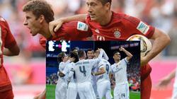 Lewandowski và Muller ghi bàn nhiều hơn cả đội hình Real