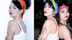 Hot girl Nam Định hóa Hà Tăng phiên bản nổi loạn