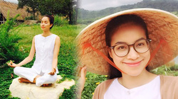 Phạm Hương tìm bình yên trên núi hậu đăng quang