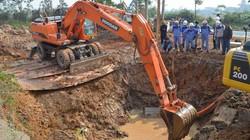 """HN xây nhà máy nước mới """"gánh đỡ"""" đường ống Sông Đà"""