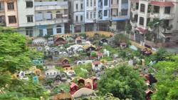 Ảnh: Những nghĩa địa lọt thỏm giữa phố phường Hà Nội