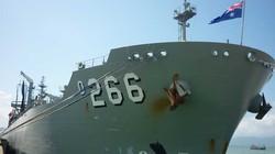 Tàu Hải quân Australia đã đến Đà Nẵng
