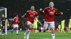 """Clip: Rooney """"nổ súng"""", M.U nhọc nhằn hạ gục CSKA Moscow"""