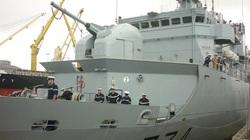 Cận cảnh tàu tuần dương Hải quân Pháp vừa đến Đà Nẵng
