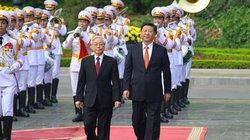 Cận cảnh Lễ đón Chủ tịch Trung Quốc Tập Cận Bình