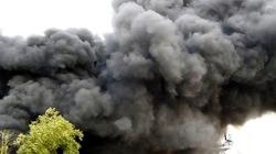 Xưởng tôm đông lạnh cháy dữ dội sau nhiều tiếng nổ