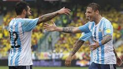 """Vòng loại World Cup 2018: Brazil thắng đậm, Argentina """"biết mùi"""" 3 điểm"""