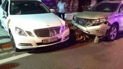 Nhân viên trông xe lái Mercedes gây tai nạn liên hoàn