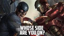 Nín thở với cuộc đối đầu của Iron Man và Captain America