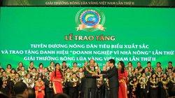 Vedan Việt Nam nhận giải thưởng bông lúa vàng năm 2015