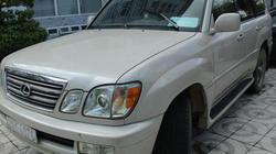 """Tạm giữ xe Lexus nghi nhập lậu gắn biển hiệu """"báo chí"""""""