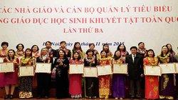Tuyên dương 194 nhà giáo tiêu biểu dạy học sinh khuyết tật