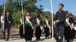 Độc đáo điệu múa tra hạt của người Khơ Mú