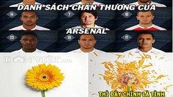 ẢNH CHẾ: Arsenal như đóa hoa tàn, J.League 2 khiếp sợ Công Phượng
