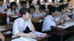 Các trường THPT không được cắt xén môn học