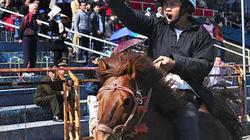 Ảnh: Khoảnh khắc chiến thắng của những nài ngựa nông dân