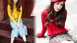Hot girl Linh Napie gợi ý phối đồ mùa giáng sinh