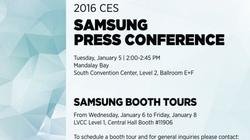 Samsung Galaxy S7 sẽ không xuất hiện tại CES 2016