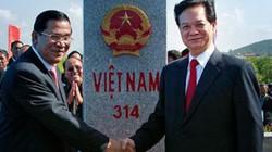 Thủ tướng Việt Nam, Campuchia dự khánh thành 2 cột mốc biên giới