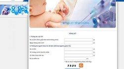 Cách đăng ký tiêm vắc xin Pentaxim cho con tại Hà Nội