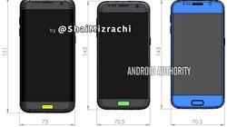 Samsung Galaxy S7 tích hợp máy quét mống mắt, giá cao
