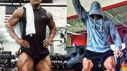Học The Rock để có cặp chân cuồn cuộn cơ bắp