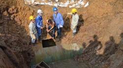 Đường nước sông Đà gặp sự cố, 70.000 hộ dân bị ảnh hưởng