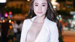 """Diện mốt không nội y, Angela Phương Trinh tha hồ khoe """"siêu vòng 1"""""""