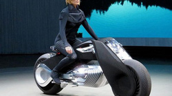 Cận cảnh xe tự cân bằng BMW Motorrad Vision Next 100