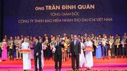 """Tổng Giám đốc Dai-ichi Life Việt Nam nhận Cúp Thánh Gióng - """"Top 100 Doanh nhân tiêu biểu 2016"""""""