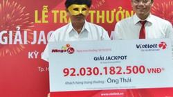 Trao thưởng xổ số 92 tỉ: Người nhận phải đeo mặt nạ