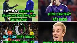 """HẬU TRƯỜNG (20.10): Messi """"chơi xỏ"""" Neymar, Joe Hart """"đá đểu"""" Guardiola,"""