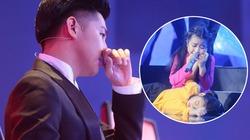 Noo Phước Thịnh rơi lệ khi học trò hát về lũ miền Trung