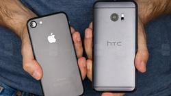 HTC 10 đọ sức iPhone 7: Thiết kế đẹp, nhưng kém hiệu suất