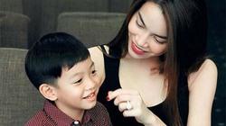 Hà Hồ nói chuyện với con trai bằng tiếng Anh gây sốt