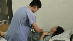 Cô gái bị mảnh kim loại cắm vào ngực được xuất viện