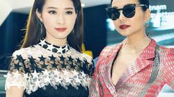 """Hoa hậu Thu Thảo quyết """"đọ sắc"""" Thanh Hằng tại sự kiện"""