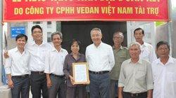 Vedan trao tặng 25 nhà tình thương cho người nghèo