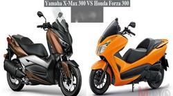 So găng Yamaha X-Max 300 và Honda Forza 300