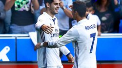 SỐC: Hiệu suất ghi bàn của Ronaldo kém xa Alvaro Morata