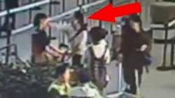 Clip: Khách Trung Quốc đánh nhân viên hàng không