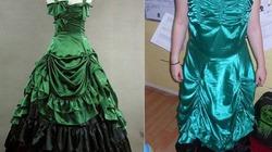 Tức tưởi khi nhận được váy cưới mua online