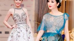 HH Giáng My, Chi Pu váy voan mỏng tang phô ngực đầy
