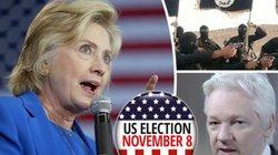 Bầu cử Mỹ: Ông trùm Wikileaks tung đòn mạnh vào Hillary Clinton